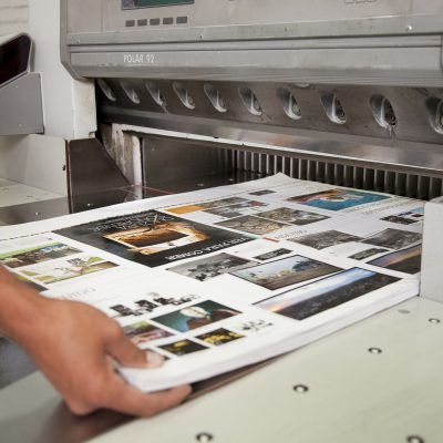 production of a printing